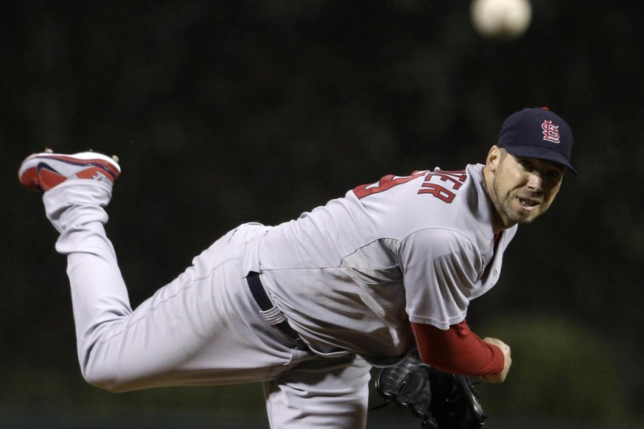 Chris Carpenter a gagné  son duel contre... (Photo: Reuters)