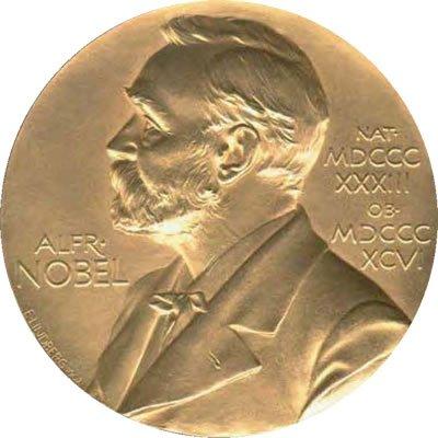 Le prix Nobel de la paix.... (Photo extraite de Google)