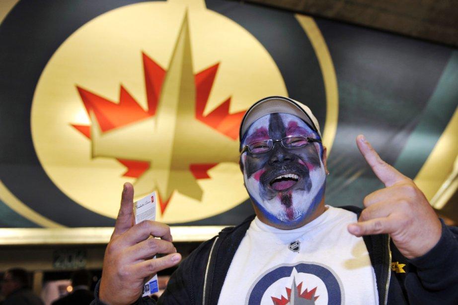 Un fier partisan des Jets de Winnipeg.... (Photo: Reuters)