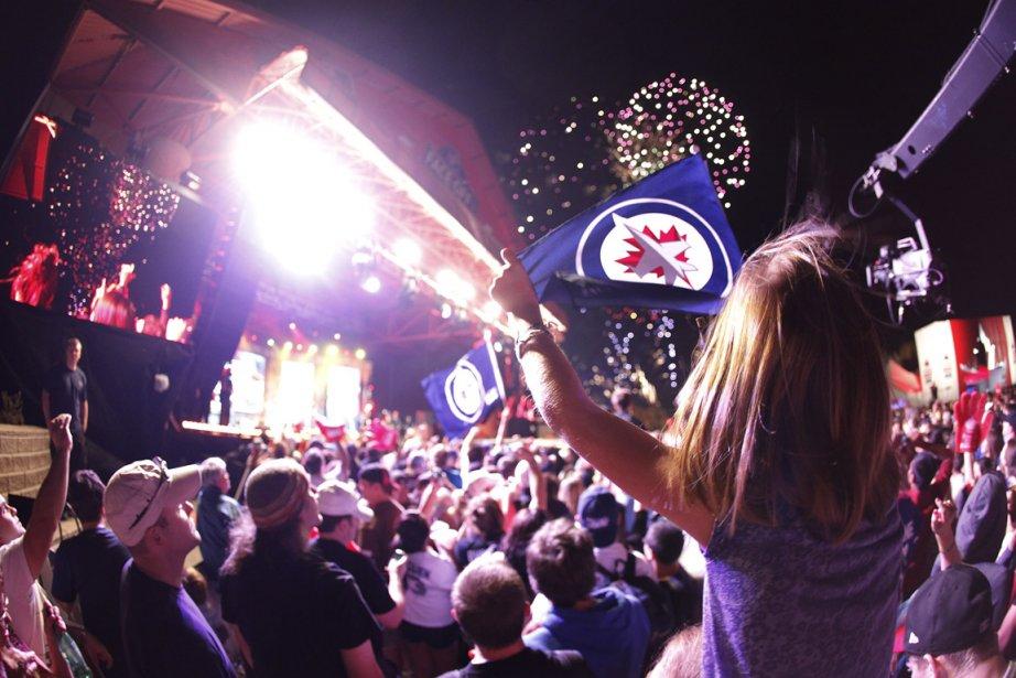 Les célébrations entourant de le retourde Jets ont... (Photo: PC)