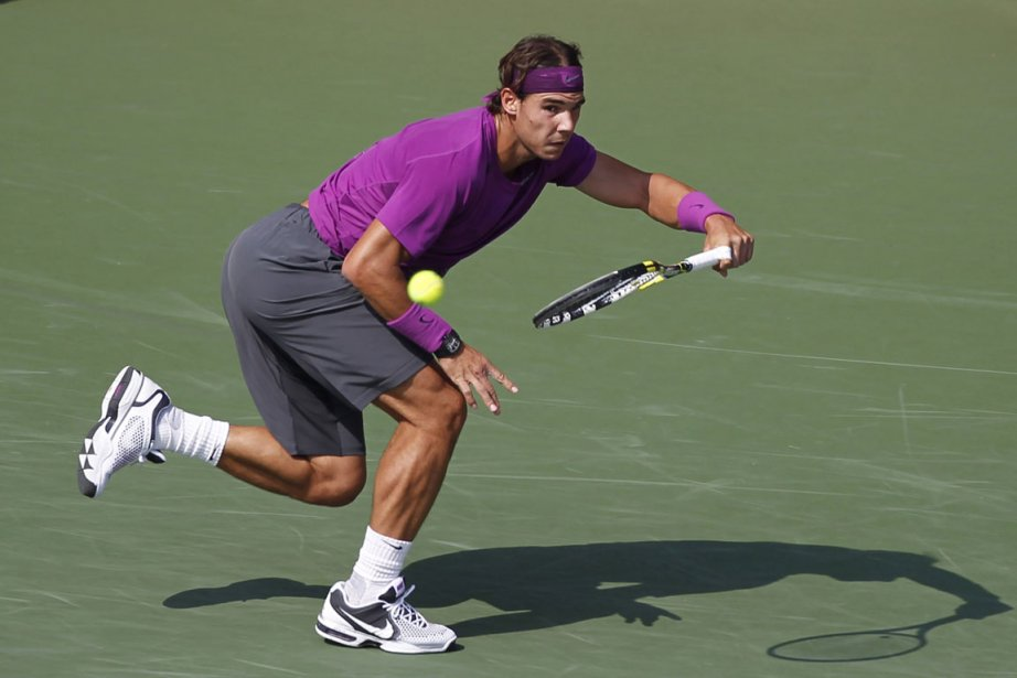 Dans la seconde manche, Nadal, qui dispute à... (Photo: Reuters)