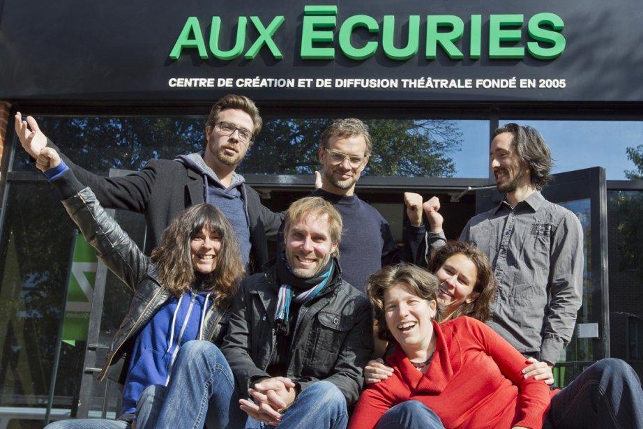 Les idéateurs et directeurs du théâtre Aux Écuries,... (Photo: Édouard Plante-Fréchette, La Presse)