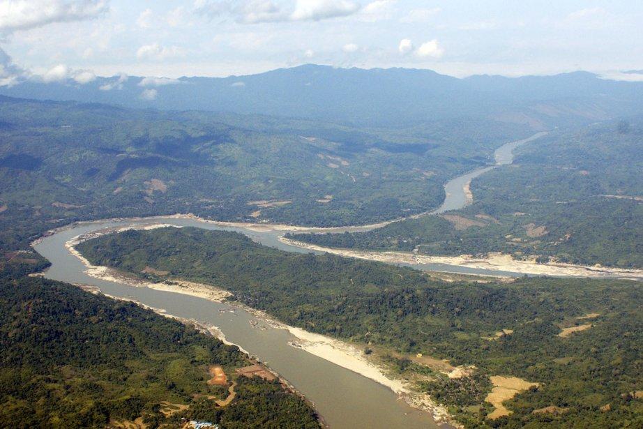 Le fleuve Irrawaddy, dans l'État kachin.... (Photo: AP)
