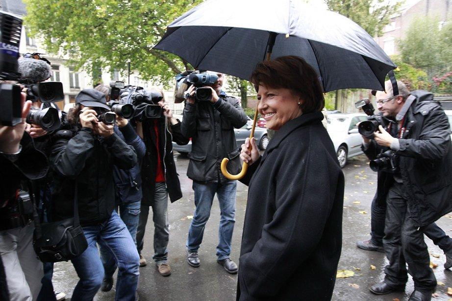 Martine Aubry, candidate à la primaire socialiste.... (Photo: Reuters)