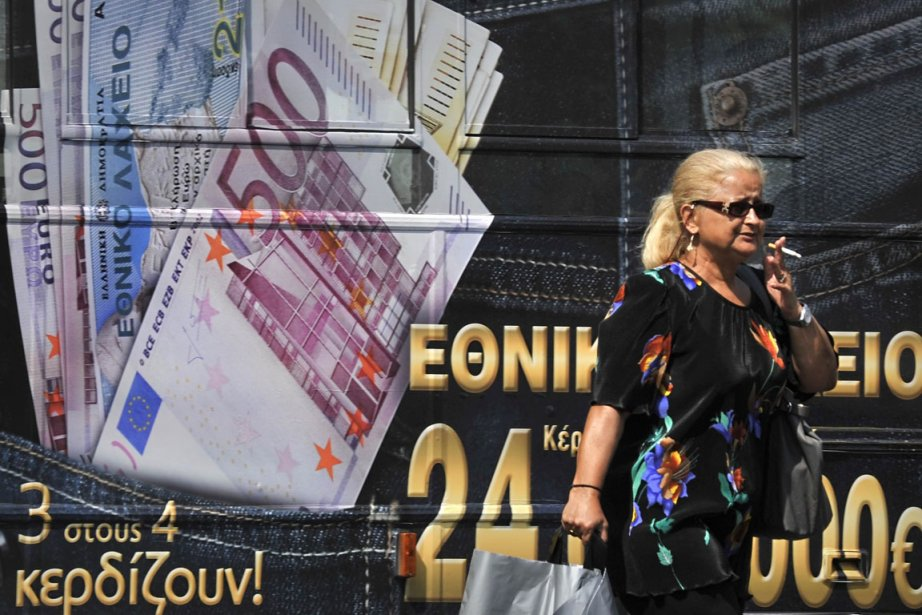 Si la Grèce entraînait l'Europe dans sa chute,... (Photo: AFP)