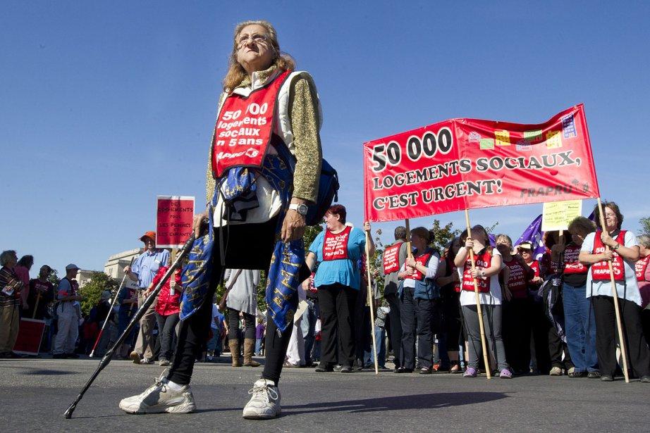 La manifestation clôture la tournée québécoise de la... (Photo: Robert Skinner, La Presse)