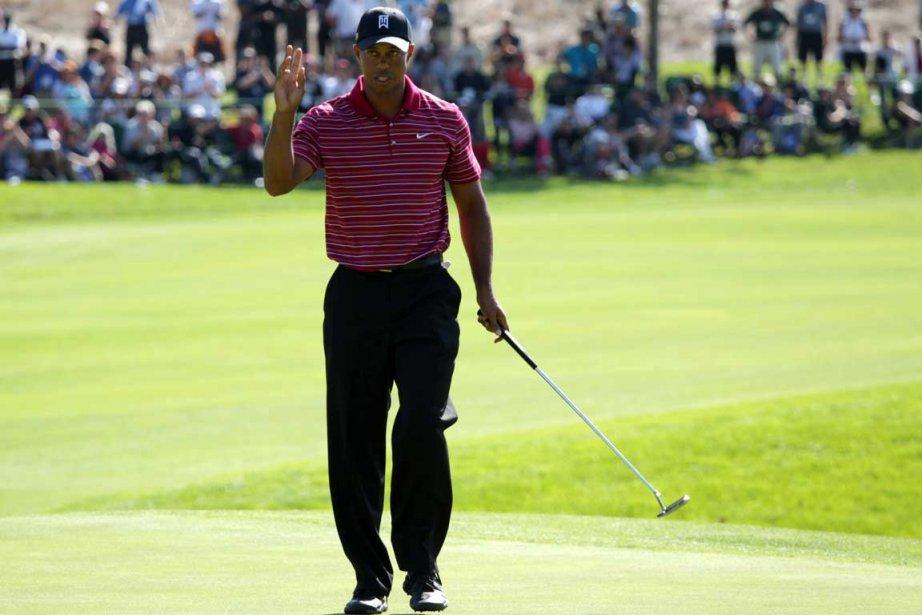 Tiger Woods... (Photo AP)
