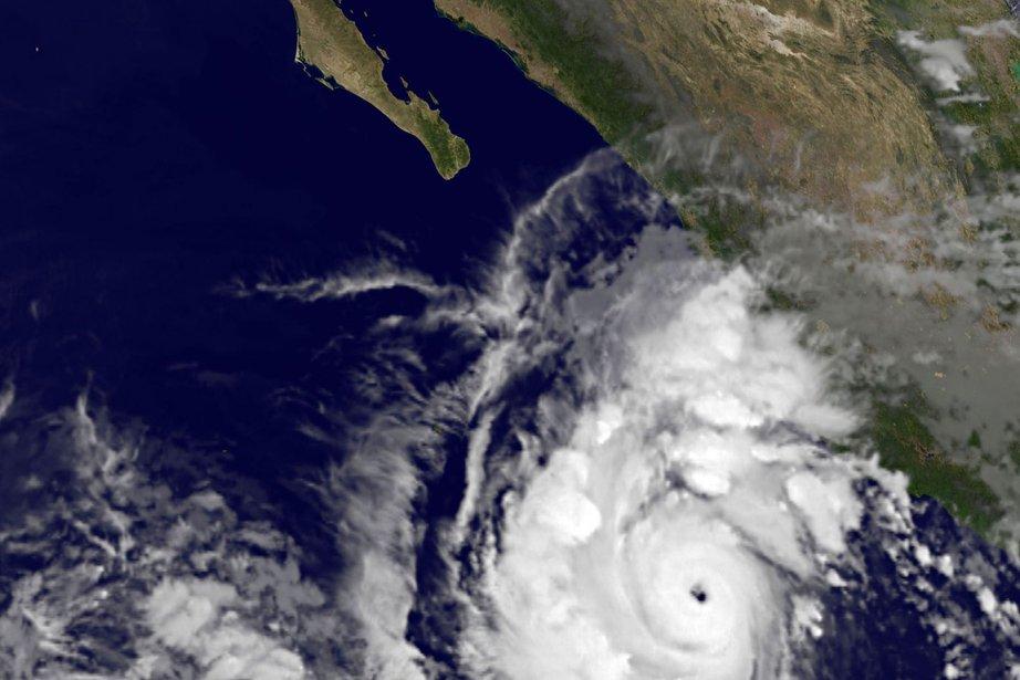 L'ouragan Jova s'approche du Mexique.... (Photo: AFP)