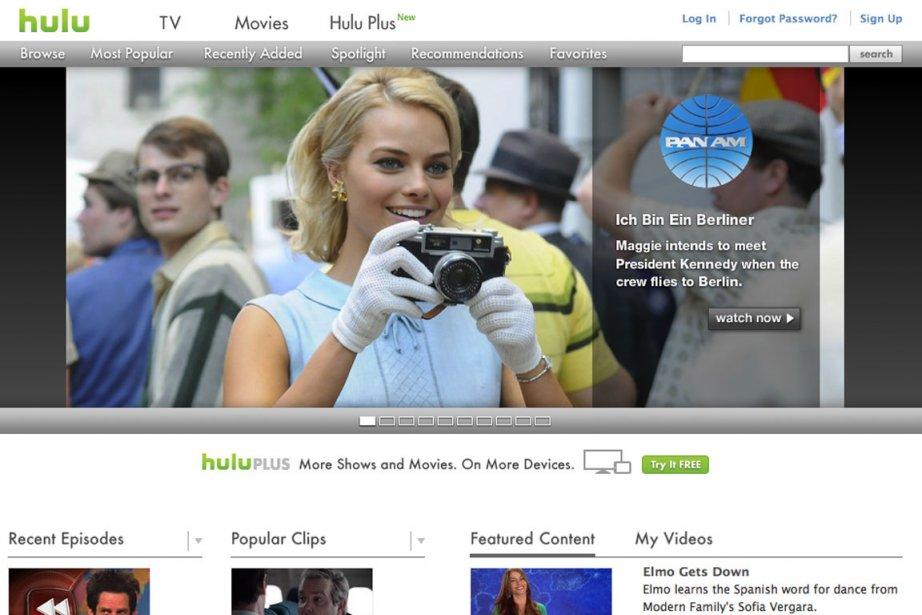 Hulu, qui compte près de 300 employés, diffuse... (Photo: site Web de Hulu)