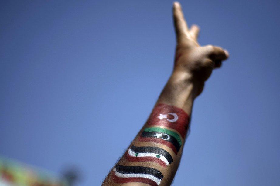 La démission du président Saleh, au pouvoir depuis... (Photo: AP)