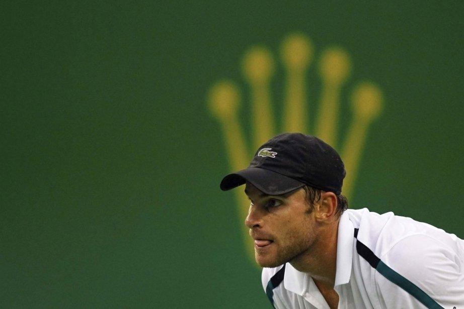 Roddick, âgé de 29 ans, a peiné à... (Phoot: Reuters)