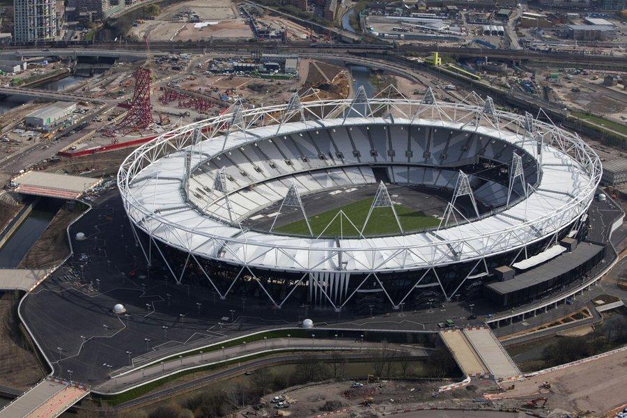 Le Stade olympique de Londres.... (Photo: AP)