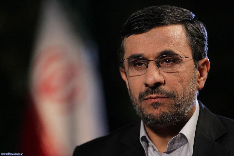 Le président iranien Mahmoud Ahmadinejad.... (Photo: AFP)