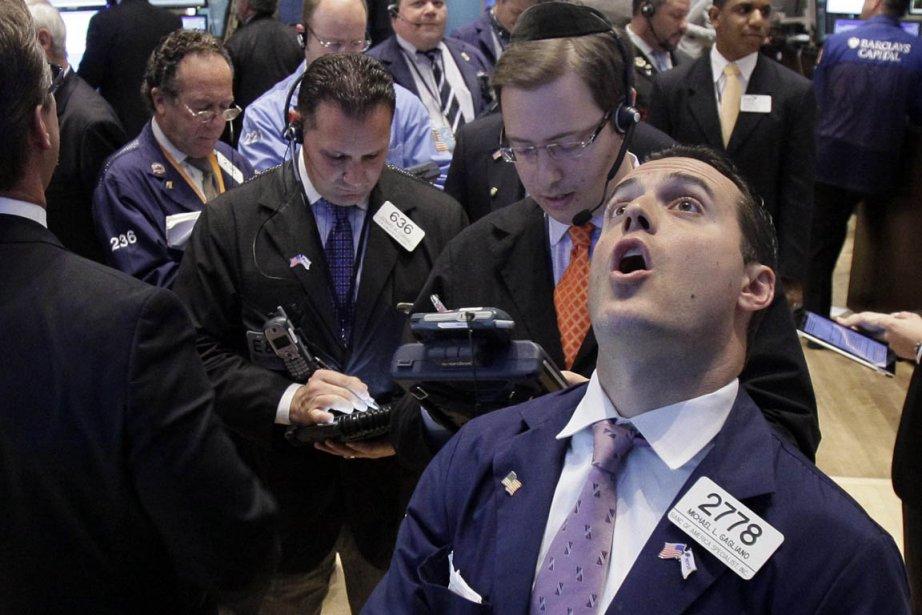 La volatilité extrême et les rendements négatifs ont... (Photo: Richard Drew, AP)