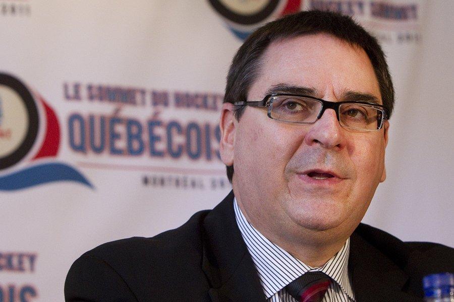 Le commissaire de la Ligue de hockey junior... (Photo: Robert Skinner, La Presse)