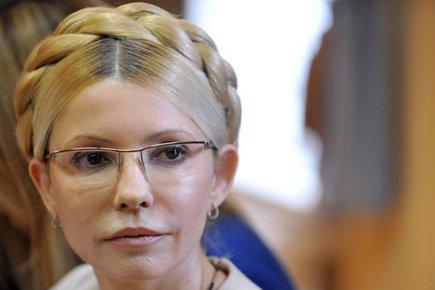 Ioulia Timochenko a été condamnée pour avoir signé... (Photo: AFP)