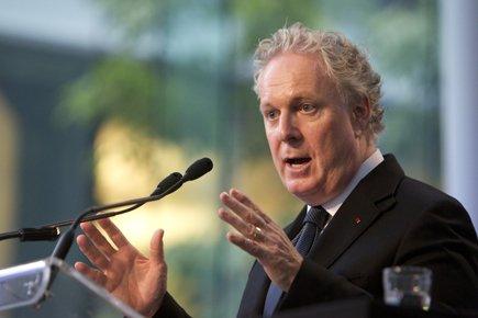 Selon toute vraisemblance, Jean Charest annoncera, dans les... (Photo: Robert Skinner, La Presse)