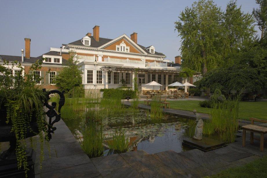 Situé à Cambridge, près de Kitchener, Langdon Hall... (Photo: Marie-Claude Lortie, La Presse)