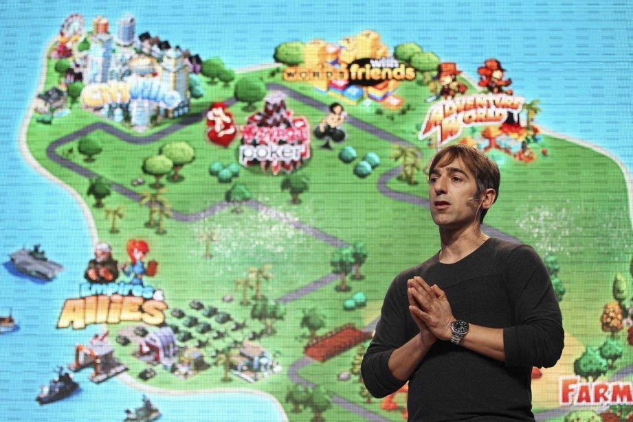 Le PDG de Zynga, Mark Pincus.... (Photo: Reuters)