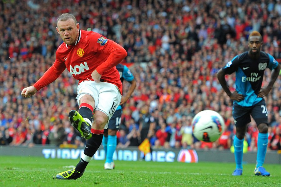 L'attaquant Wayne Rooney, de Manchester United.... (Photo: AFP)