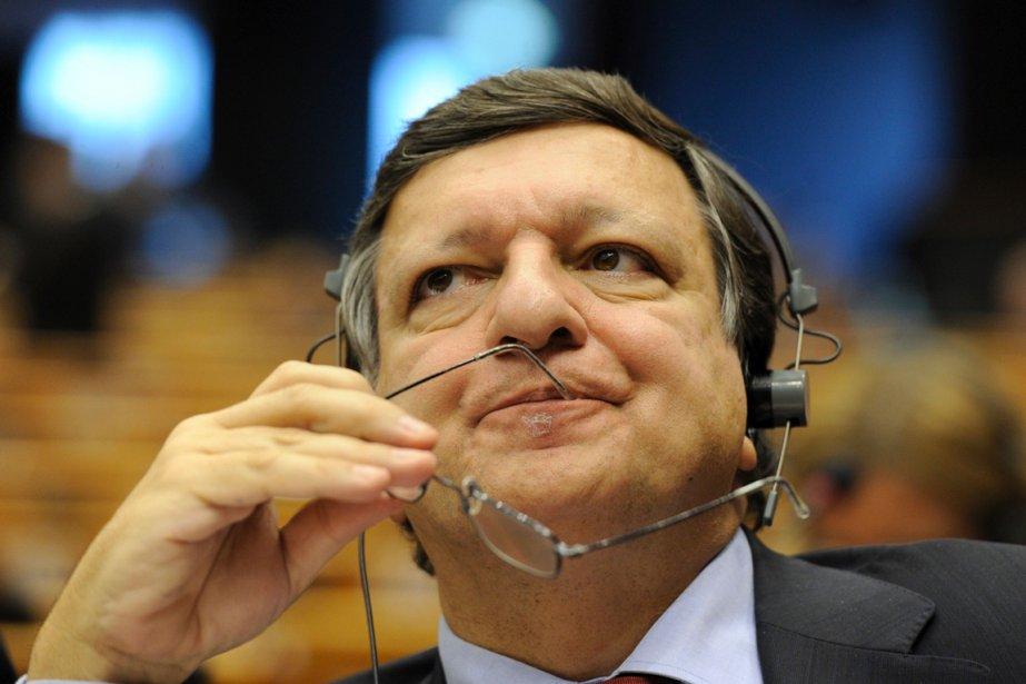Le président de la Commission européenne José Manuel... (Photo AFP)