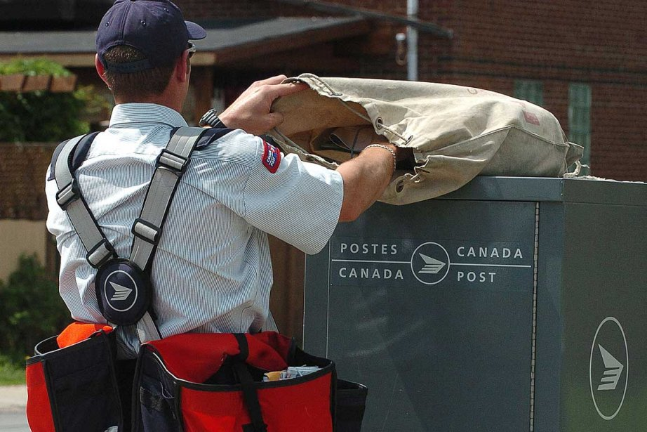 En juin dernier, la Société canadienne des postes... (Photo archives La Presse)