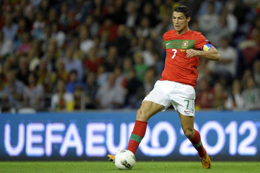Cristiano Ronaldo, de l'équipe du Portugal.... (Photo: AFP)