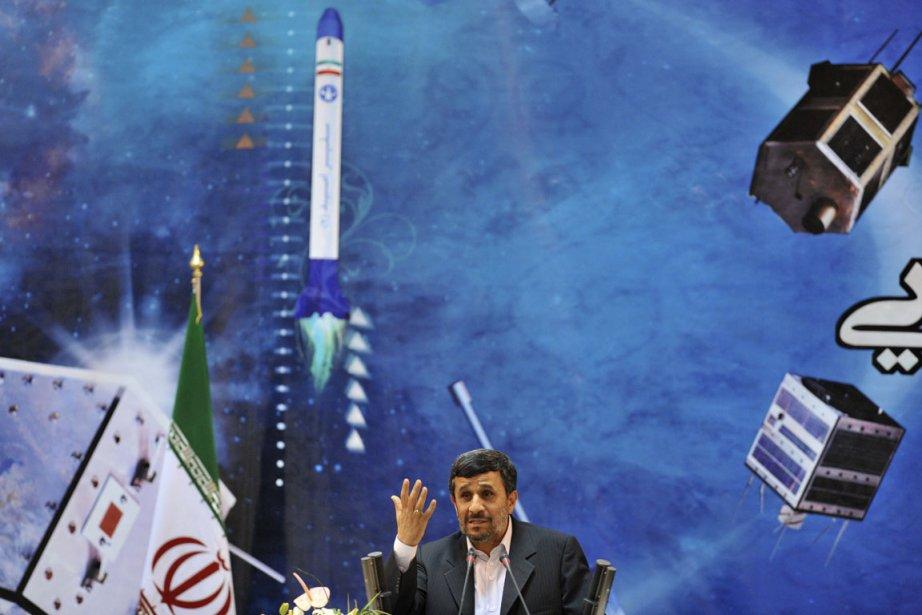 Le projet d'envoyer dans l'espace une capsule transportant... (Photo: Sajjad Safari, Archives Reuters)