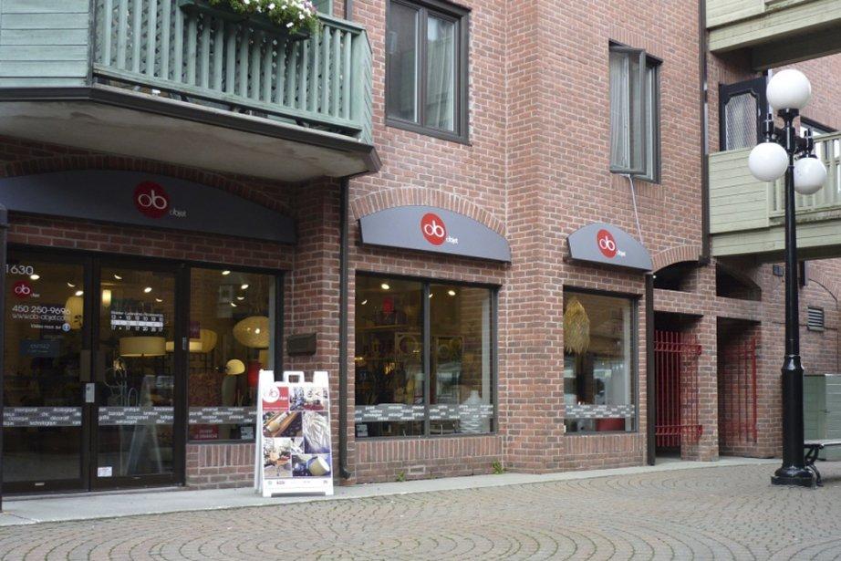 La boutique Ob Objet à Saint-Hyacinthe.... (Photo: Ob Objet)