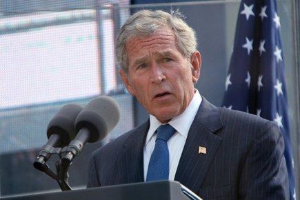 L'ancien président américain George W. Bush.... (Photo: Reuters)