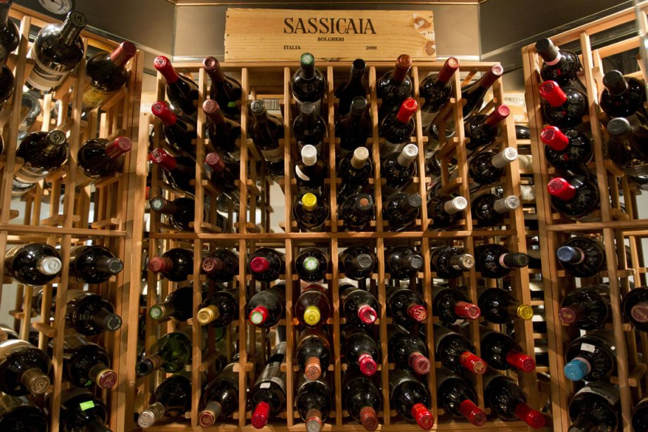 Le coût d'une cave à vin peut être... (Photo: Ivanoh Demers, La Presse)