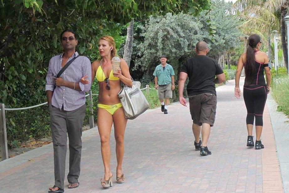 Absolument tous les looks sont permis à Miami... (Photo: Marie-Christine Blais, La Presse)