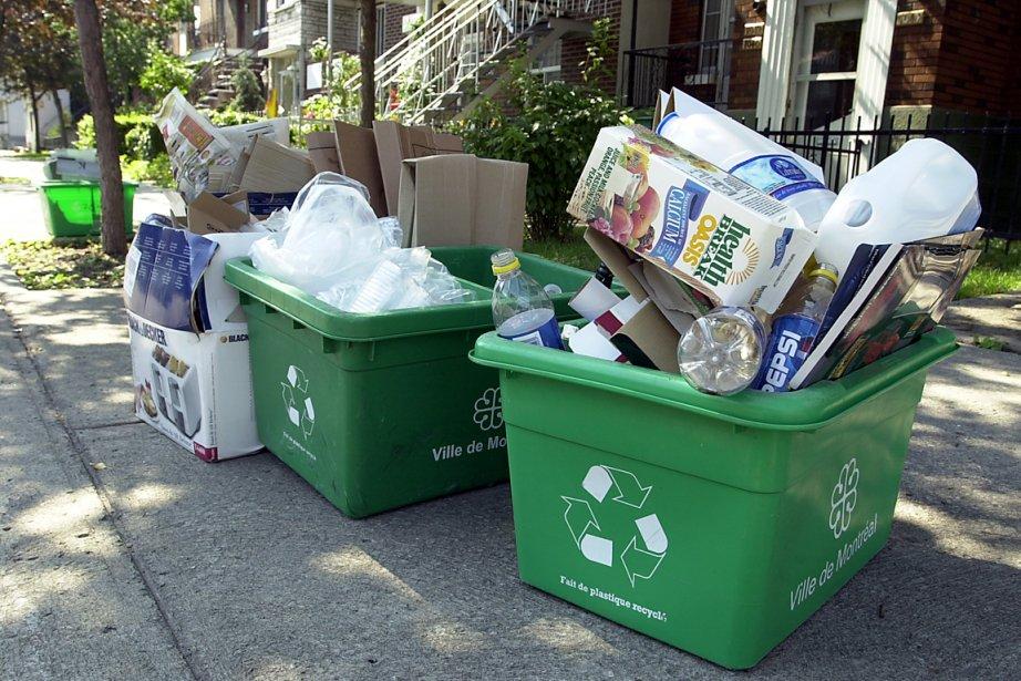 Parmi les matières les plus recyclées, on compte... (Photo: Archives La Presse)