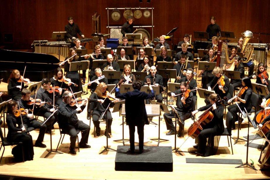 Le Nouvel Ensemble Moderne clôturait sa 22e saison... (Photo archives La Presse)