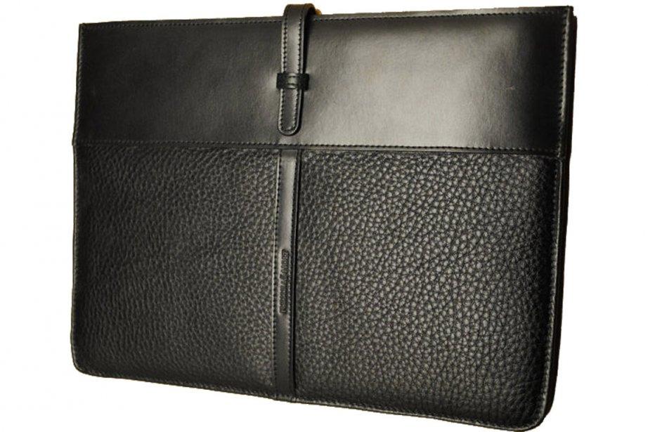 L'étui en cuir pour iPad.... (Photo fournie par Fullum & Holt)