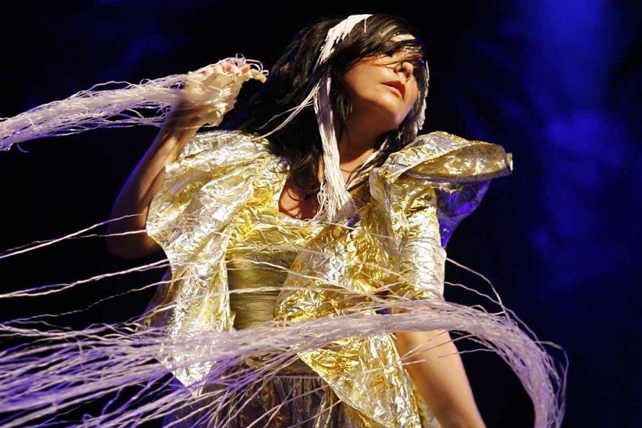Björk... (Photo AFP)
