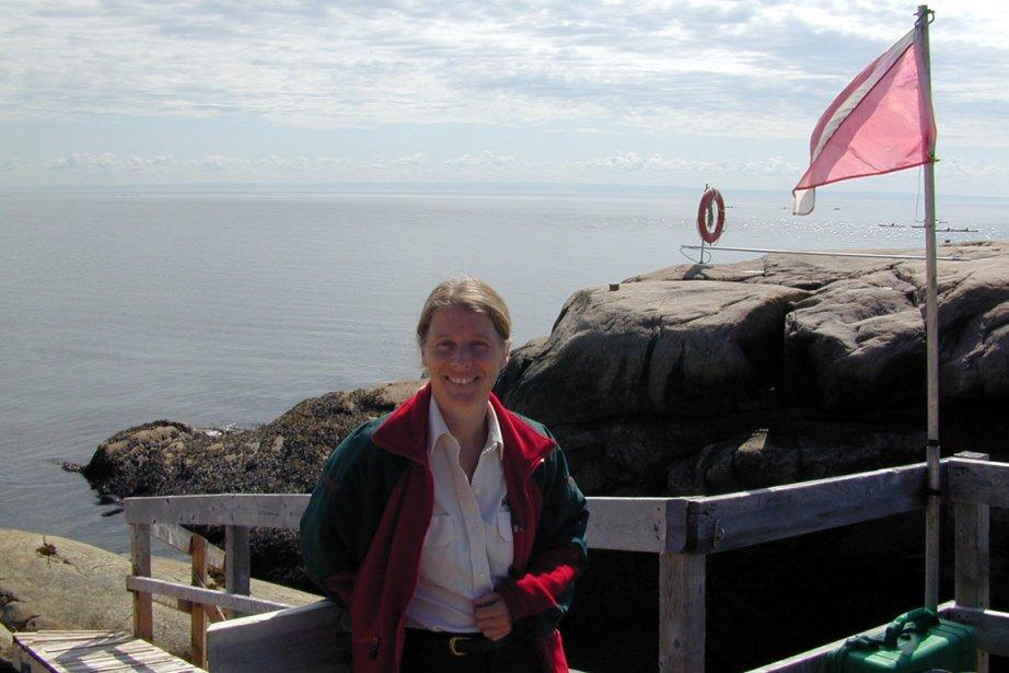 Sonia Normandin, guide-interprète du patrimoine.... (Photo fournie par Parcs Canada)