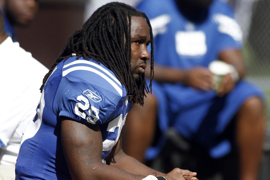 Joseph Addai... (Photo: Reuters)