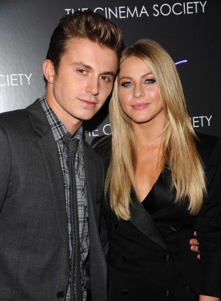 Kenny Wormald et Julianne Hough à la première du film à New York. | 27 juillet 2012