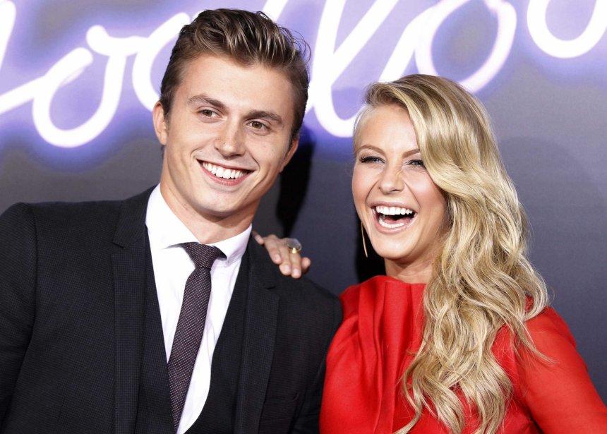 Kenny Wormald et Julianne Hough à la première du film à Los Angels. | 27 juillet 2012