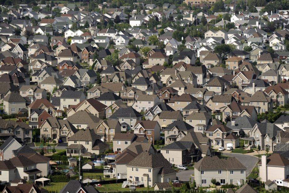 La densification est déjà une tendance lourde, bien... (Photo: Bernard Brault, Archives La Presse)