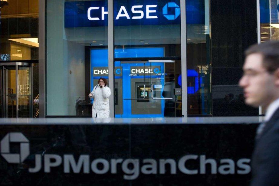 JP Morgan Chase a ouvert jeudi la saison... (Photo AP)