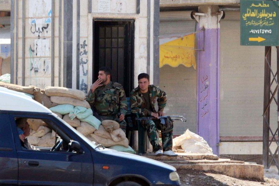 Au moins 15 militaires ont été tués à... (Photo: Louai Beshara, AFP)
