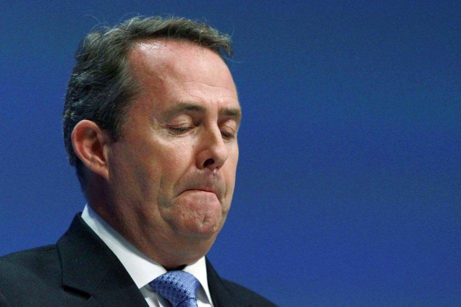 Liam Fox était au coeur d'un scandale pour... (Photo: Suzanne Plunkett, Reuters)