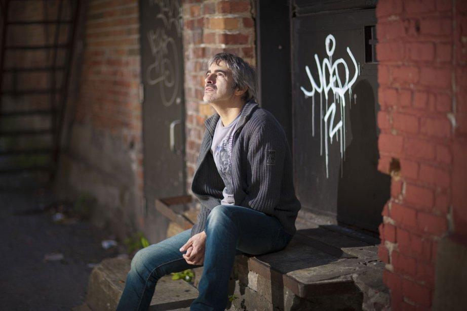 Le chanteur et compositeur Daran.... (Photo: André Pichette, La Presse)