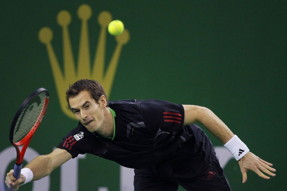 Andy Murray, tenant du titre à Shanghai, a... (Photo: Reuters)