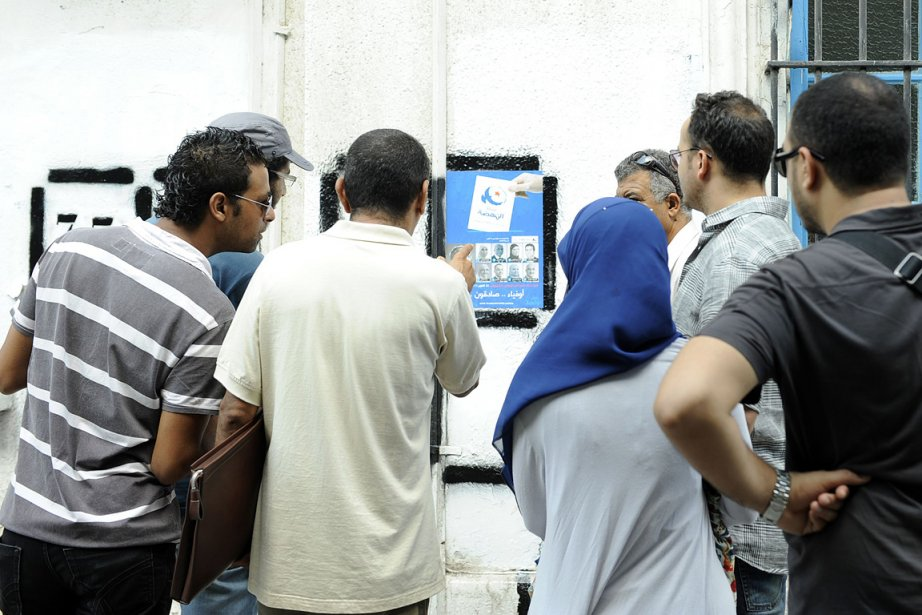 La campagne électorale tunisienne, qui vise à nommer... (Photo: AFP)