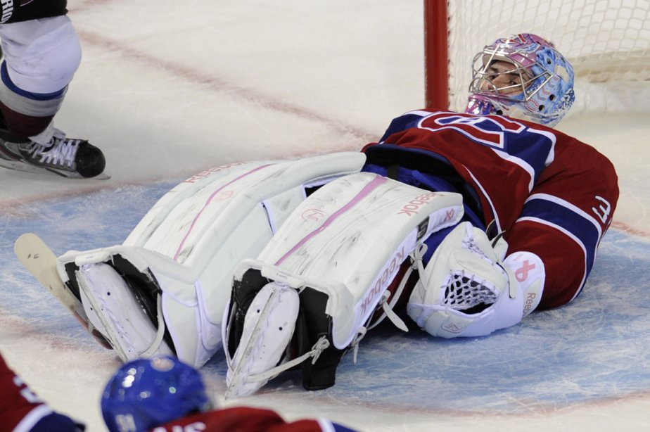Carey Price hérite du bonnet d'âne de Pierre... (Photo: Bernard Brault, La Presse)