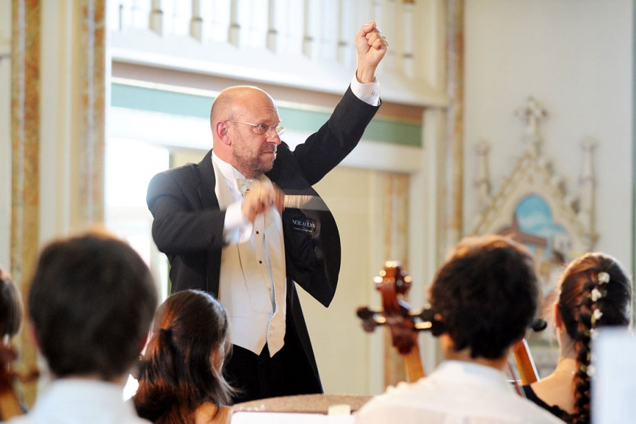 Jean-François Rivest, le chef et fondateur de l'Orchestre... (Photo: Archives La Presse)