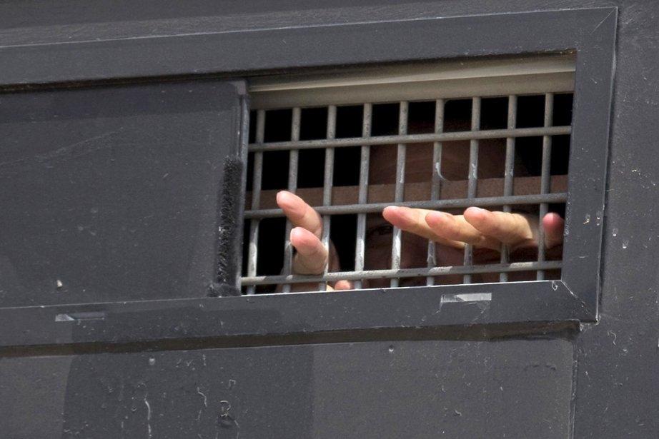 Ce Palestinien est l'un des 1027 prisonniers qui... (Photo: AFP)